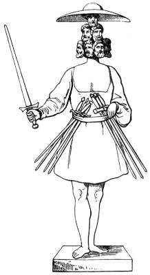 Rugewit / Rujewit - Pan Rugii, kolejny słowiański bóg wojny. Tym razem przedstawiany z siedmioma głowami i mieczami (z ósmym w ręku). Niektórzy badacze łączyli go też z płodności (związek ze słowem ruja). Zdaniem niektórych badaczy jest to kolejna hipostaza samego Peruna.
