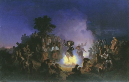 Ivan Ivanovich Sokolov, Noch' na Ivana Kupalu (1856)
