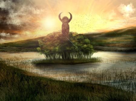 Jako ciekawostkę warto wspomnieć, że istnieją hipotezy łączące nazwę wyspy Wolin z kultem Welesa. Miałyby świadczyć o tym wzmiankę kronikarza Herbonda o tym, że czczono tam Plutona (rzymskiego boga zaświatów) oraz obecny na Pomorzu kult Trygława, który czasem jest traktowany jako hipostaza Wołosa. Autor: benSatori ©