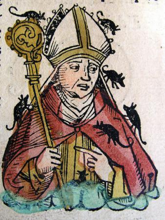 biskup z myszami