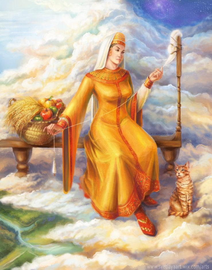 Mokosz – Matka Ziemi i patronka kobiet