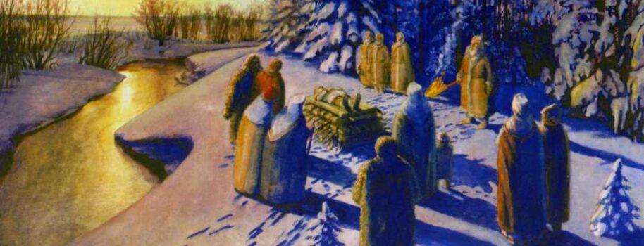 Pogrzeb po słowiańsku: Palenie i grzebanie