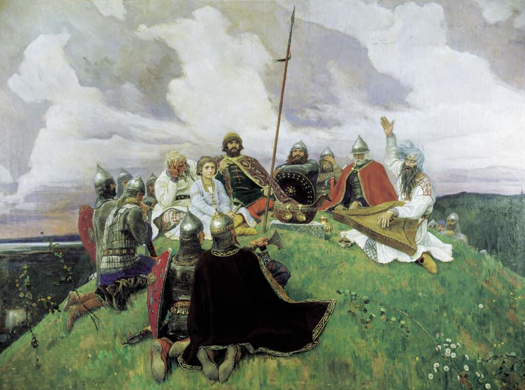 Pogrzeb po słowiańsku: Tryzna i strawa