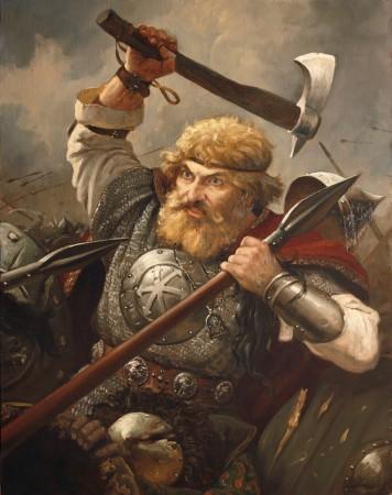 Zaciekłość niektórych internetowych dyskutantów jest na tyle duża, że mogliby jej pozazdrościć najwytrwalsi słowiańscy wojowie. Autor obrazu: A. Szyszkin.