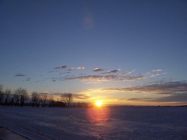 Grudzień – miesiąc grud, godów, śniegu i proszenia