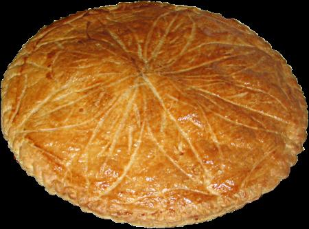 To Ciasto Trzech Króli, które wykorzystywano również w czasie zabawy w Migdałowego Króla. Autor: Gorrk (CC)