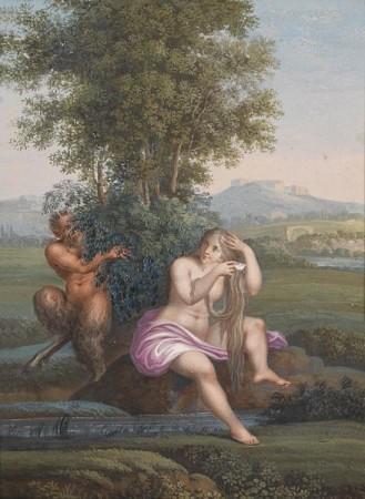 Faun i babeczka