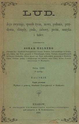 Kolberg_Oskar_Lud_1890_Kaliskie