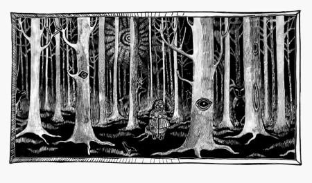 spiekładuchy las