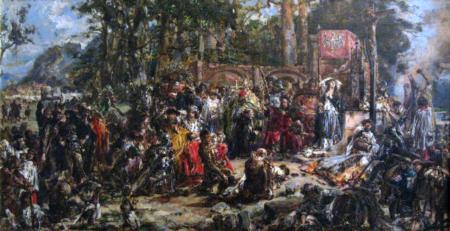 Jan Matejko, Chrystianizacja Litwy.