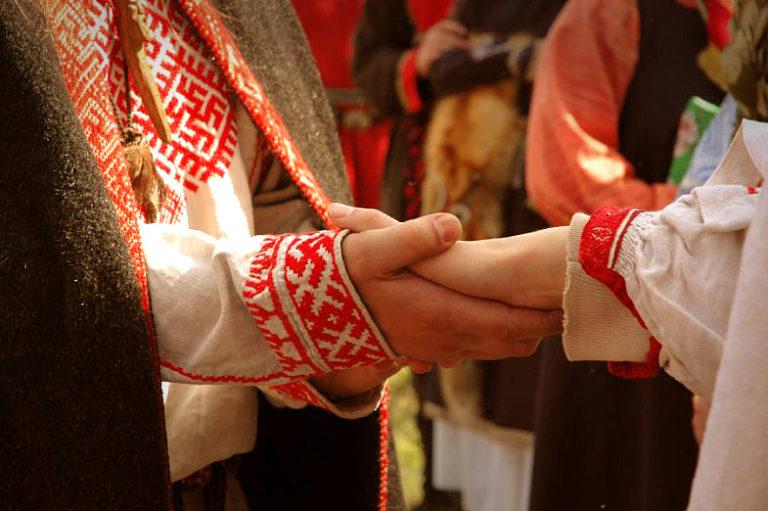 Swaćba, czyli ślub po starosłowiańsku